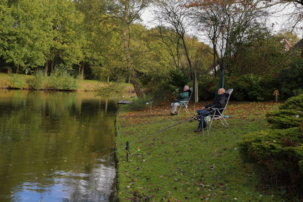 villapark weddermeer vissen