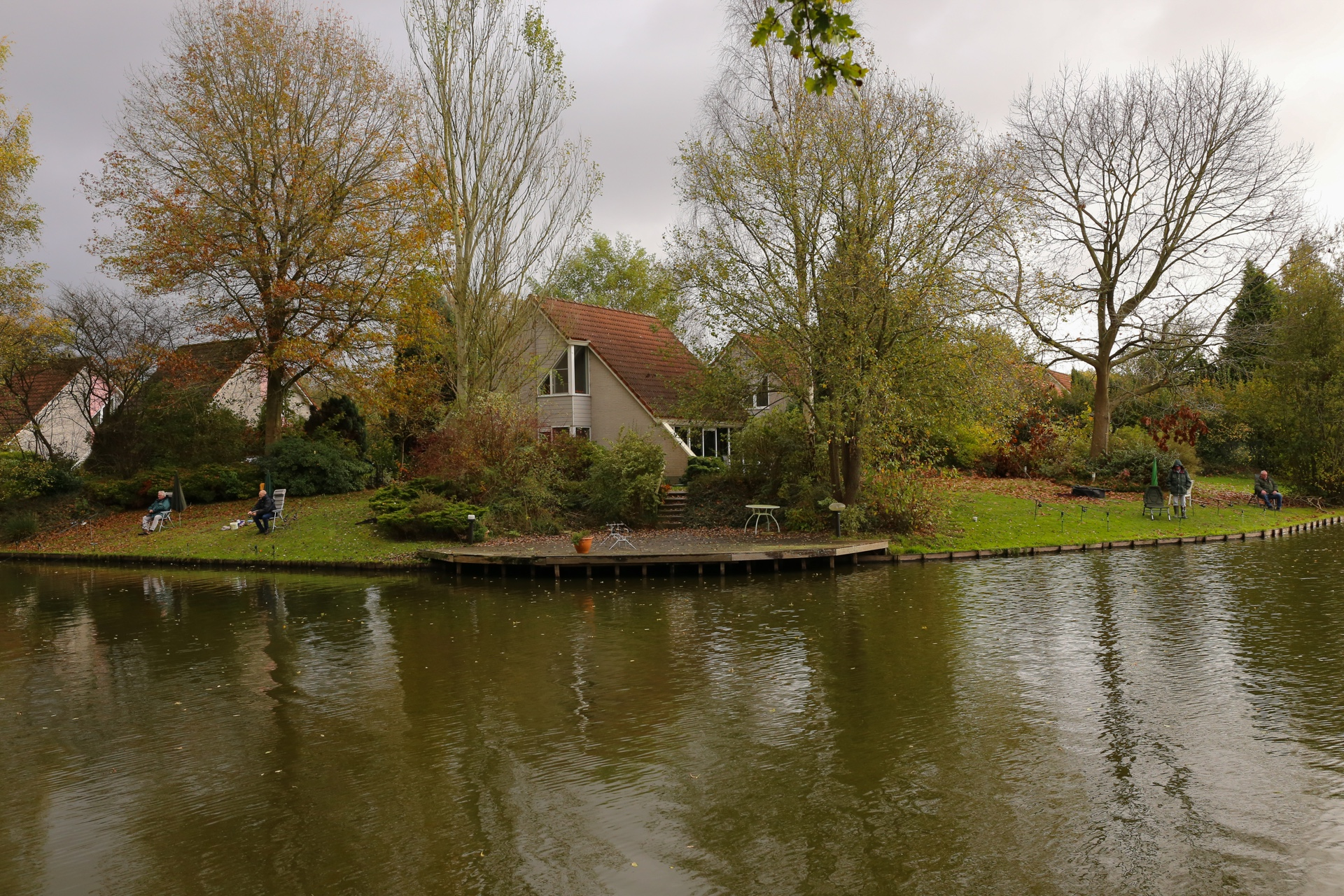 fishing villapark weddermeer